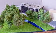 Architectural exibition scale model hitech building (photo 11)