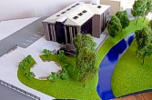 Architectural exibition scale model hitech building (photo 14)