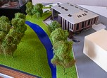 Architectural exibition scale model hitech building (photo 16)