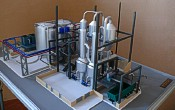 Scale model of complex waste processing factory Lesaffre Voronegskiye yeast (photo 12)