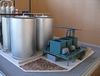 Scale model of complex waste processing factory Lesaffre Voronegskiye yeast (photo 6)