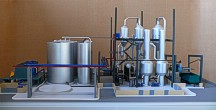 Scale model of complex waste processing factory Lesaffre Voronegskiye yeast (photo 7)