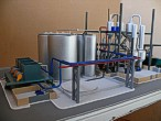 Scale model of complex waste processing factory Lesaffre Voronegskiye yeast (photo 8)