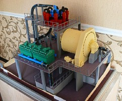 Scale model equipment